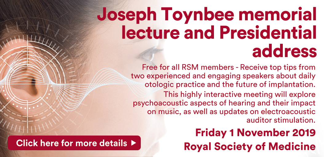 Joseph Toynbee memorial lecture and Presidential address