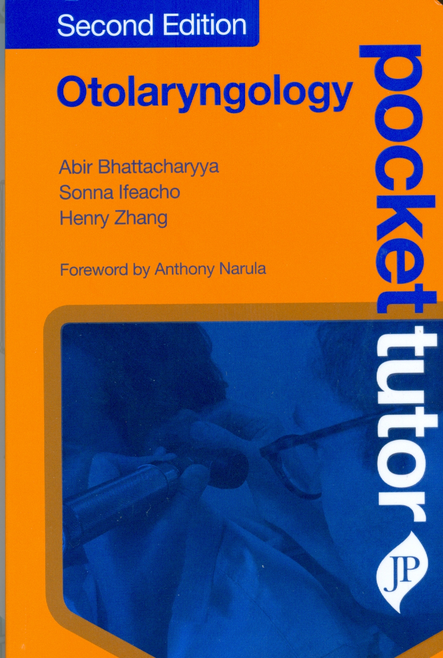 Pocket Tutor Otolaryngology