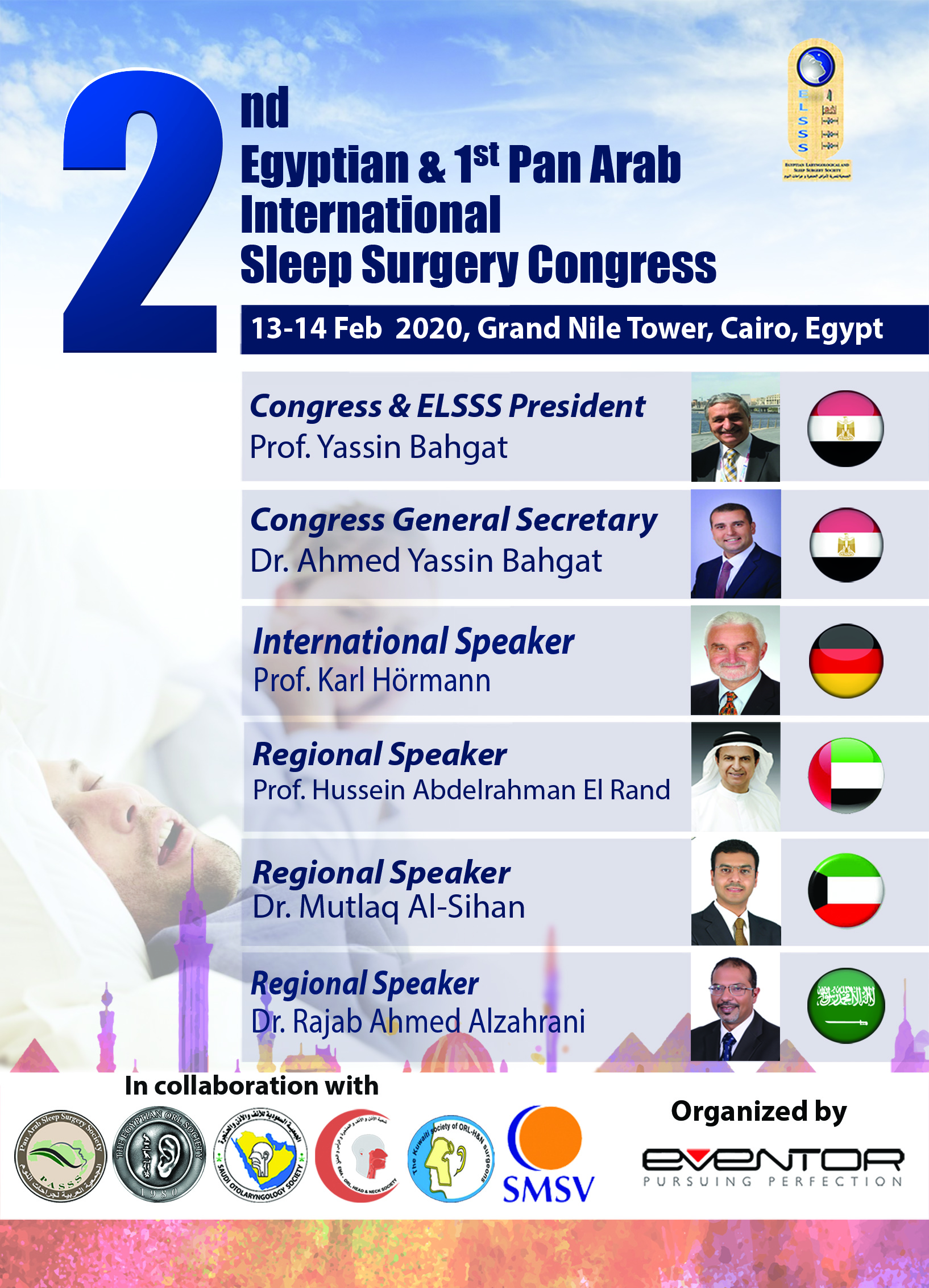 2nd Egyptian & 1st Pan Arab International Sleep Surgery Congress