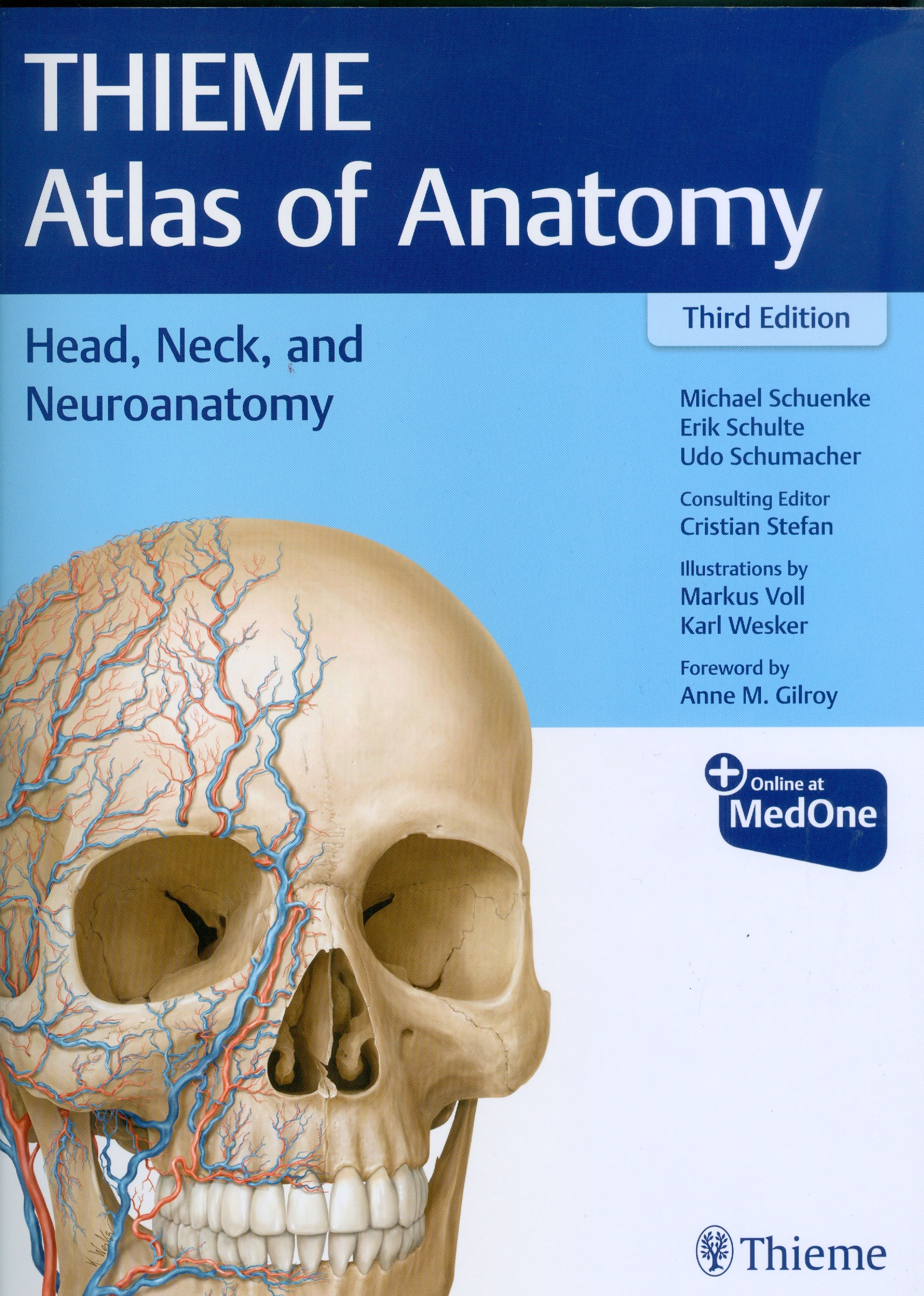Atlas of Anatomy: Head, Neck, and Neuroanatomy, 3rd edn
